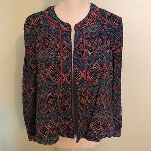 Anthropologie Blank London multi- color jacket